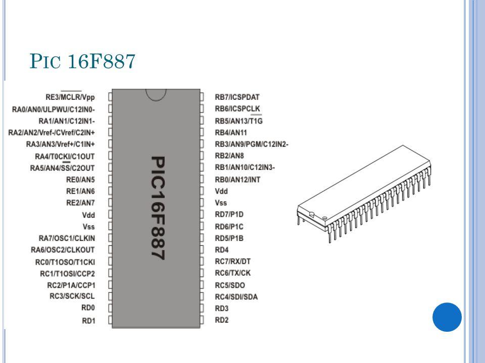 P IC 16F887