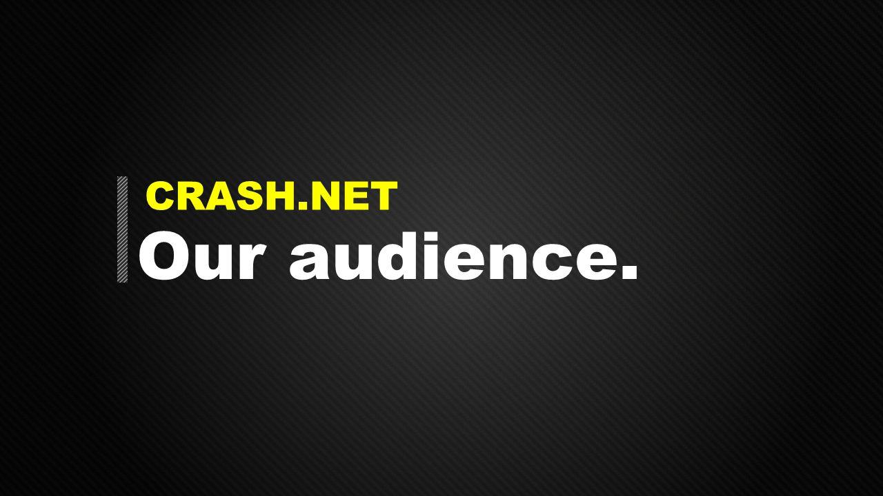 CRASH.NET Our audience.