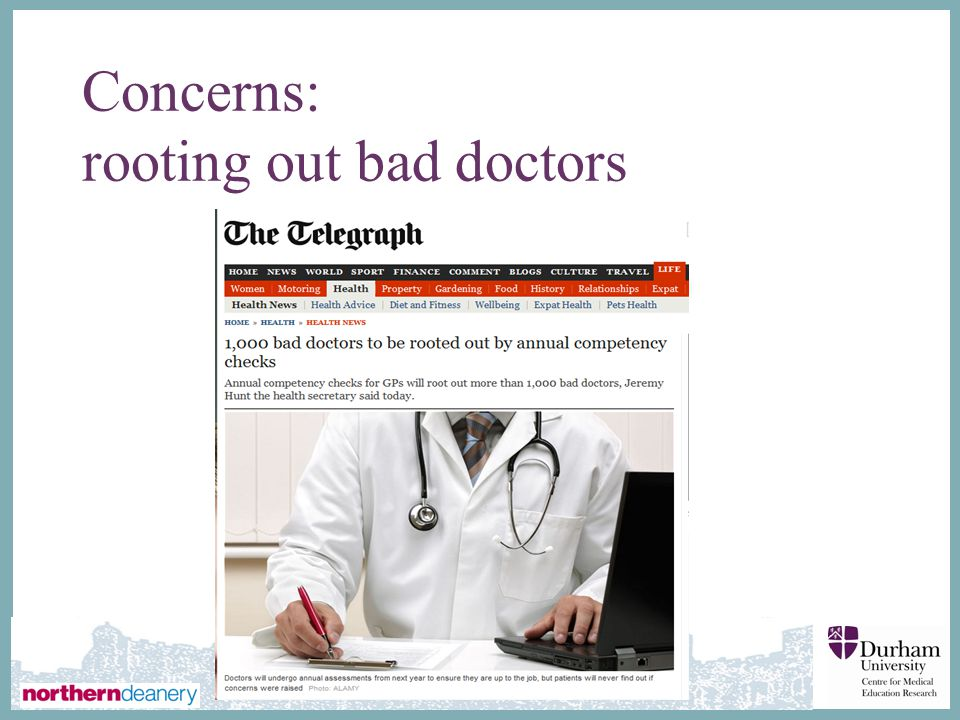 ∂ Concerns: rooting out bad doctors