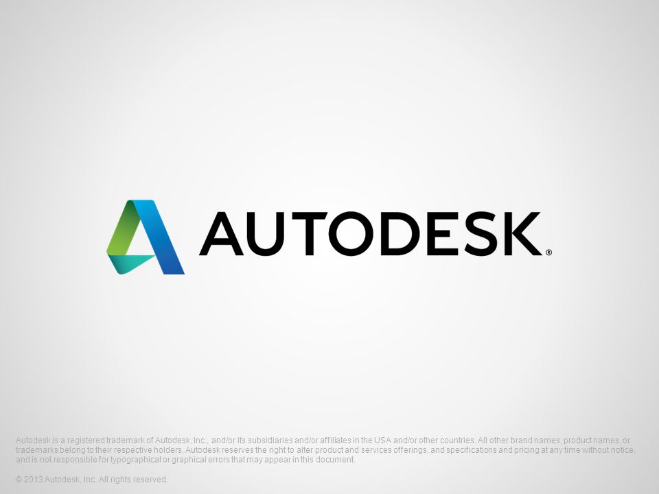 Autodesk is a registered trademark of Autodesk, Inc., and/or its subsidiaries and/or affiliates in the USA and/or other countries.