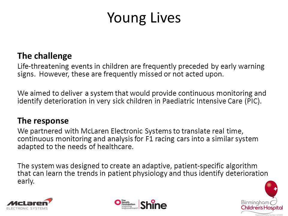 Saving Young Lives Learning through innovation and collaboration Dr Heather Duncan 1, Dr B.