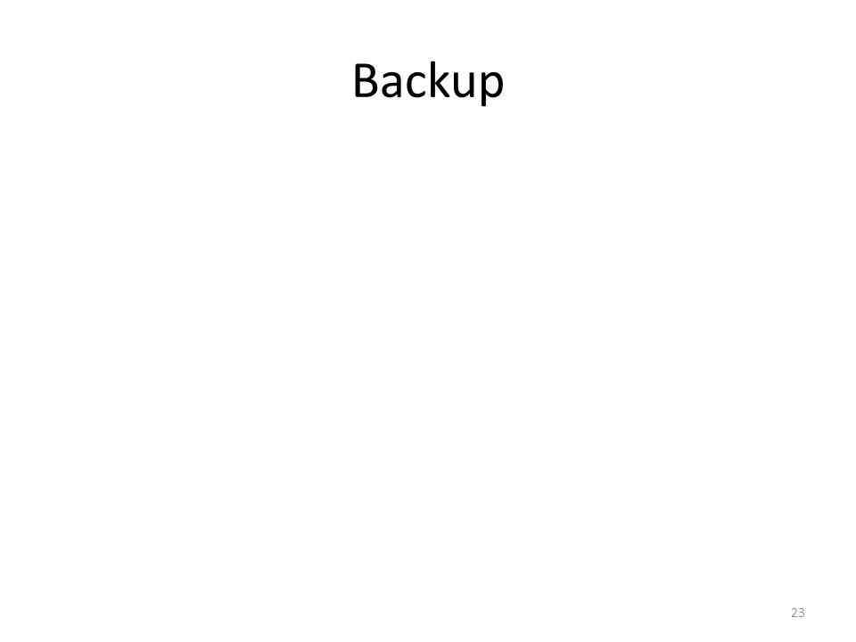 Backup 23