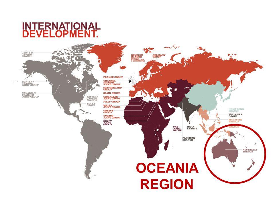 INTERNATIONAL DEVELOPMENT. OCEANIA REGION