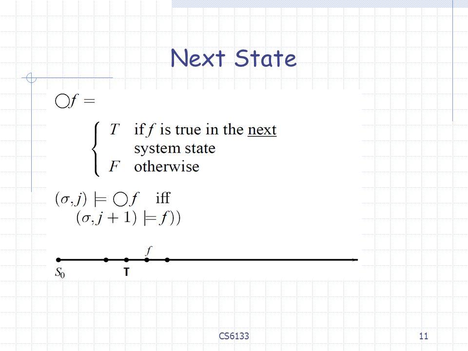 11 Next State CS6133