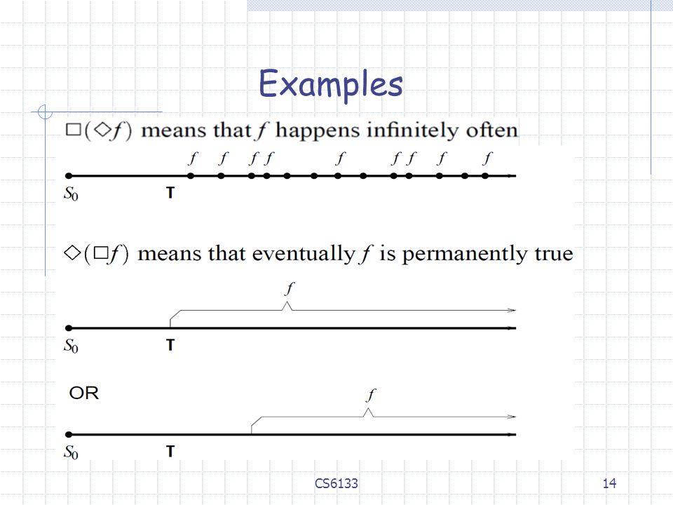 14 Examples CS6133