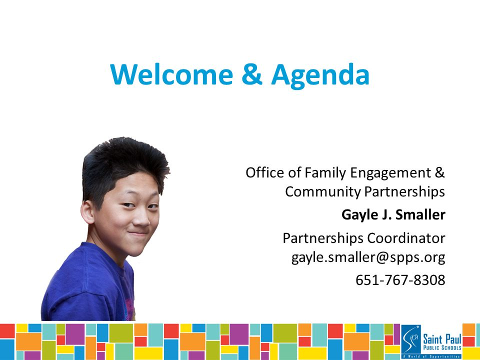 Office of Family Engagement & Community Partnerships Gayle J.