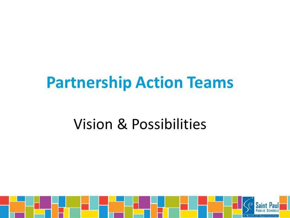 Partnership Action Teams Vision & Possibilities