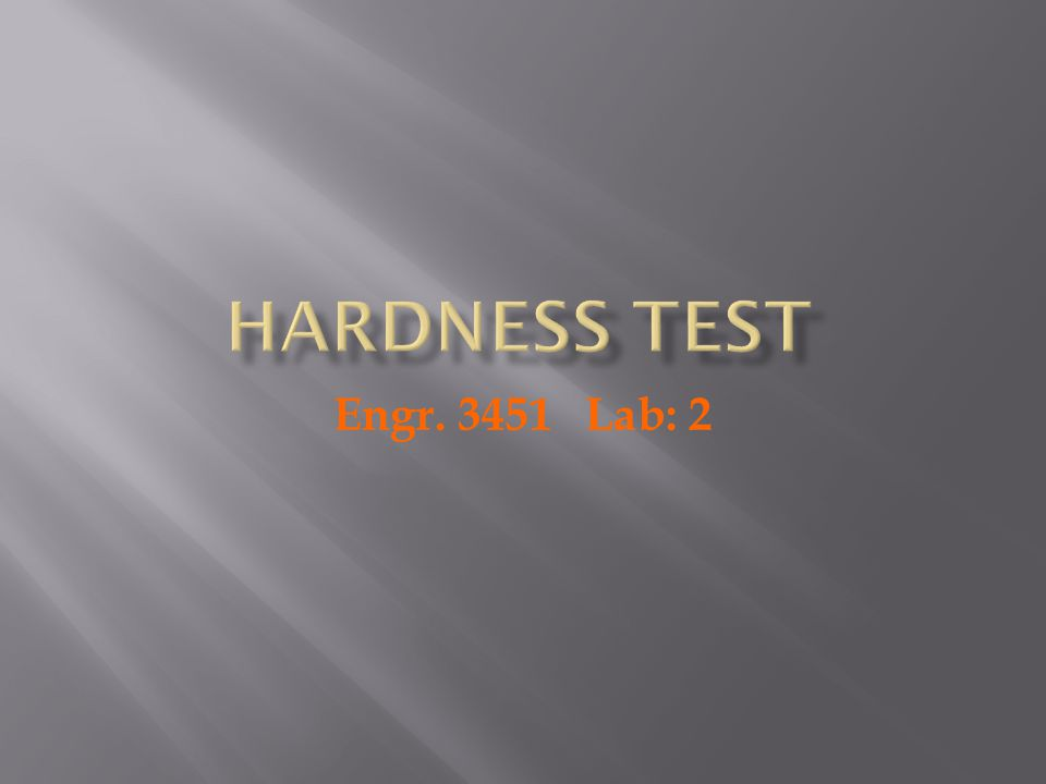 Hardness One if the mechanical properties that may be important to consider is hardness which is a measure of material's resistance to localized plastic deformation Moha( Minerals) Vikers Knoop Scleroscope Brinell Rockwell