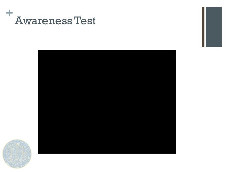 + Awareness Test