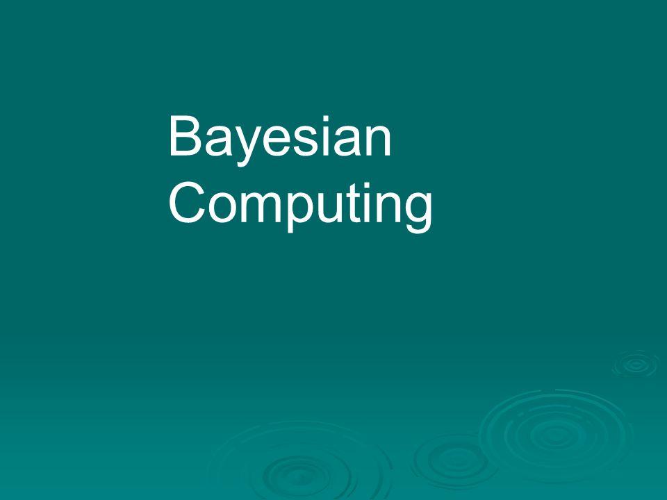 Bayesian Computing