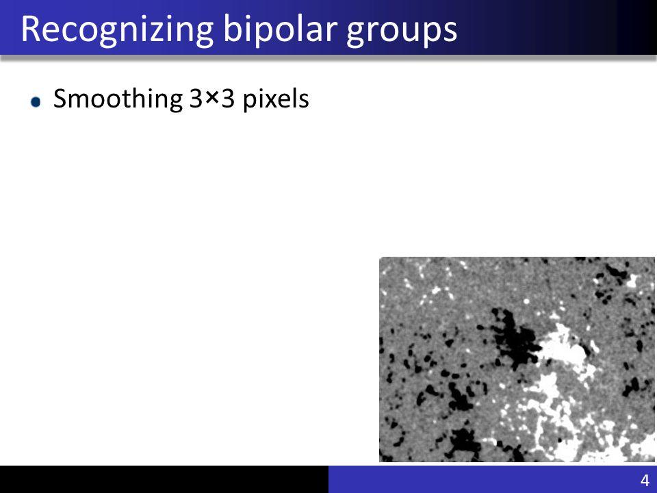 Vu Pham Recognizing bipolar groups Smoothing 3×3 pixels 4