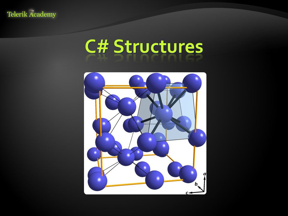  What is a structure in C#.