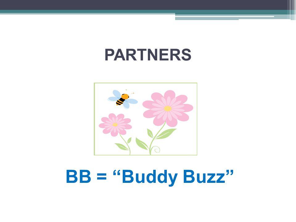 PARTNERS BB = Buddy Buzz