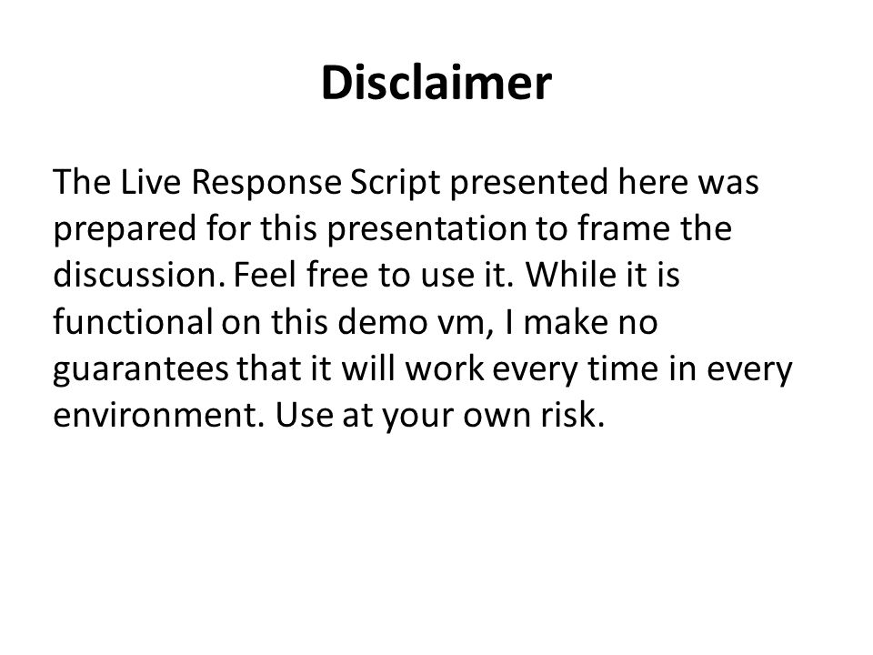 Disclaimer I do not claim to be an expert.