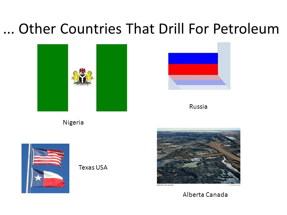 Where Do We Find Petroleum Offshore drilling: Gulf of Mexico (US) Canada Baltic Sea Norwegian Sea OPEC Members Organization of the Petroleum Exporting