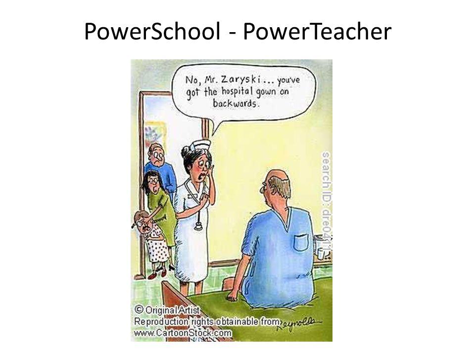 PowerSchool - PowerTeacher
