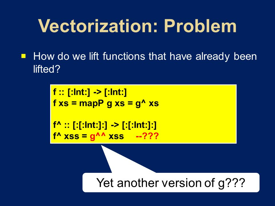  How do we lift functions that have already been lifted.