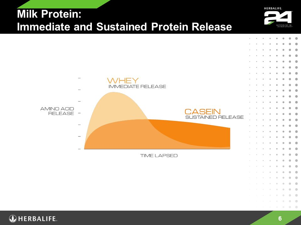 6 Milk Protein: Immediate and Sustained Protein Release