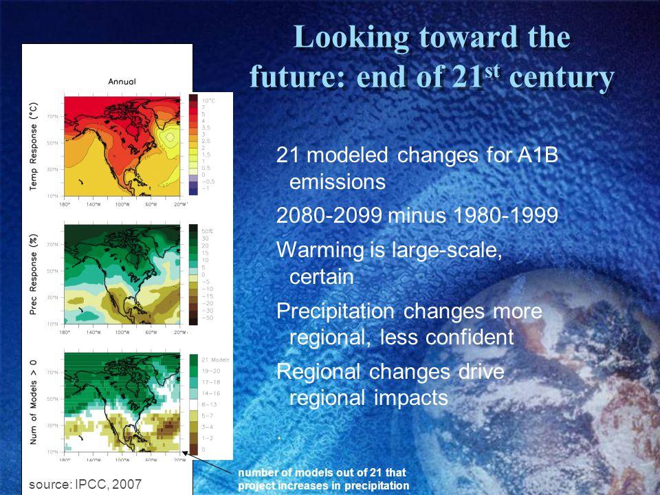 Escenarios de Cambio Climático específicos cuenca Mataquito Para un solo escenario (A1b) pero ahora estudiando un poco cambios en variabilidad