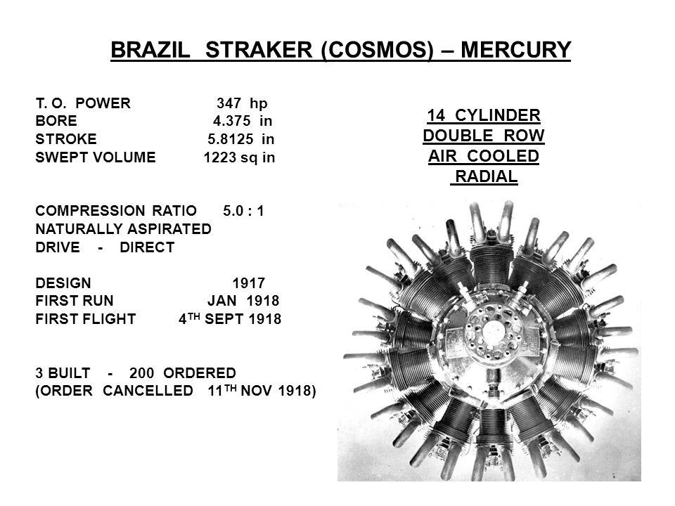 BRAZIL STRAKER (COSMOS) – MERCURY T. O.