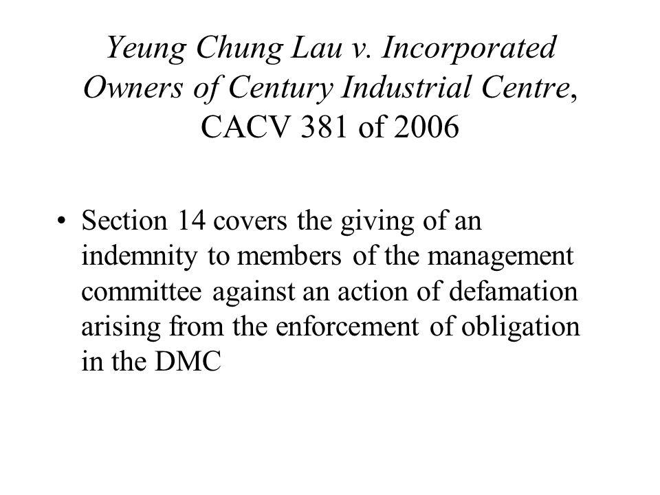 Yeung Chung Lau v.