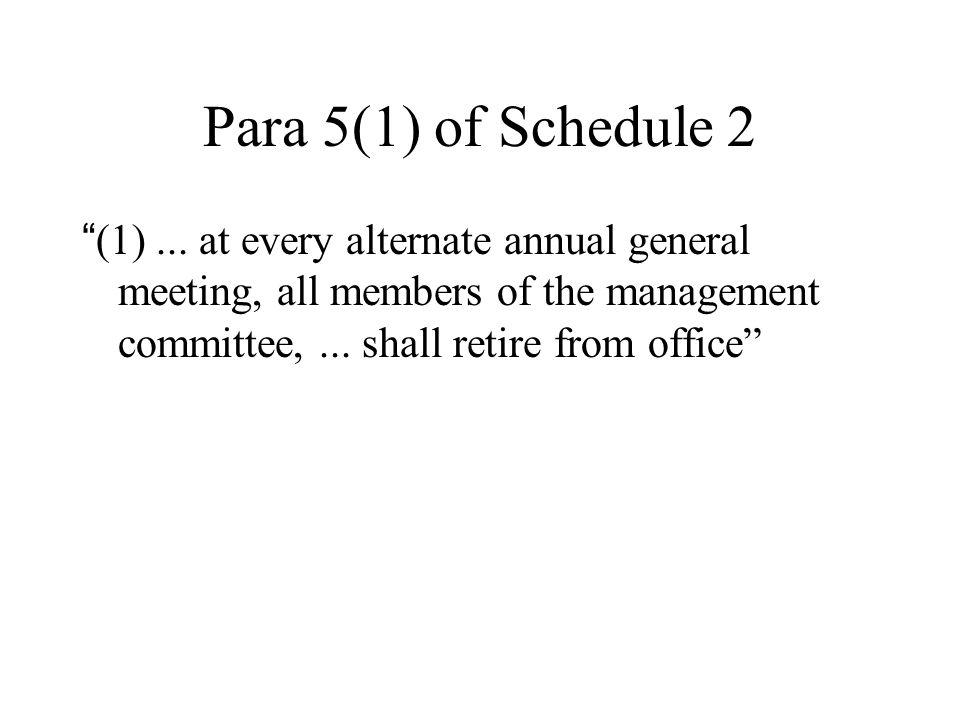 Para 5(1) of Schedule 2 (1)...