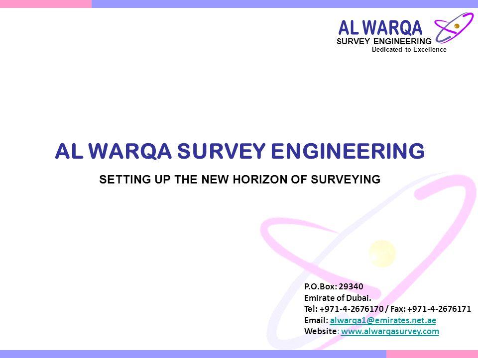 Our Branches Al Warqa Survey works L.L.C.