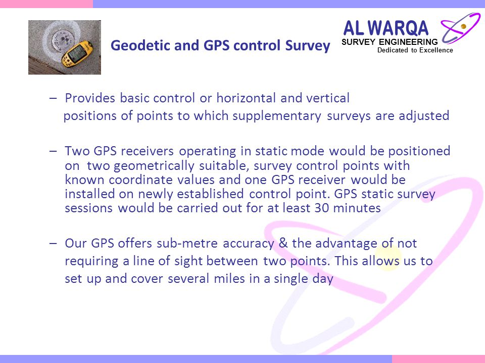 Aeronautical Survey (Height NOC for High Rise Buildings) Survey is performed to accuracies required by the FAA (Federal Aviation Administration) Advisory Circulars & NGS (National Geodetic Survey) This survey forms the basis of FAA airports GIS initiative and is critical for the development of safe and accurate approach procedures.