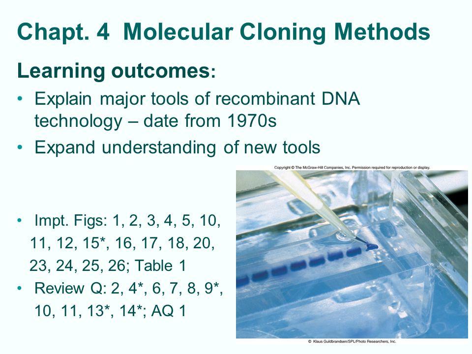 4-22 Eukaryotic Vectors, High Capacity vectors Plasmids and Viruses clone genes in eukaryotic cells –Plasmid shuttle vectors (origins of replication for both bacterial and eukaryotic host cell; ex.