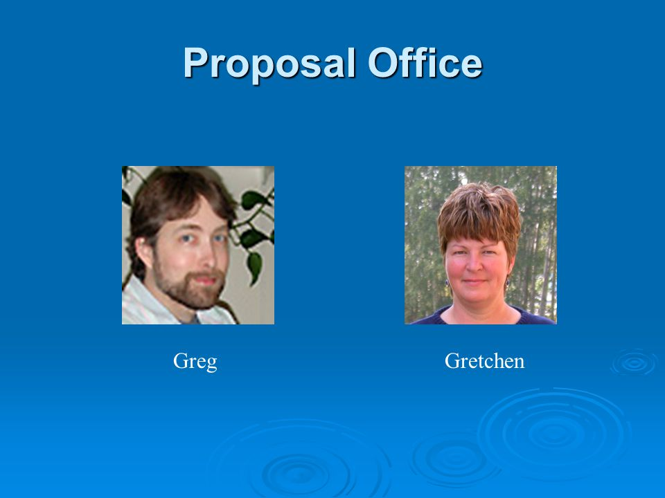 Proposal Office GregGretchen