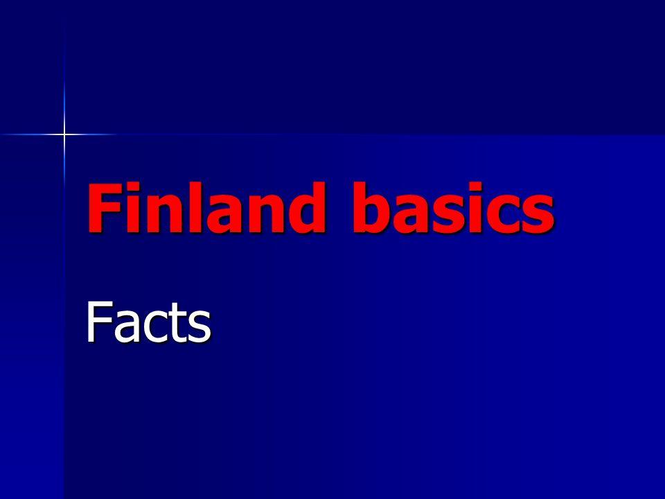Finland basics Facts
