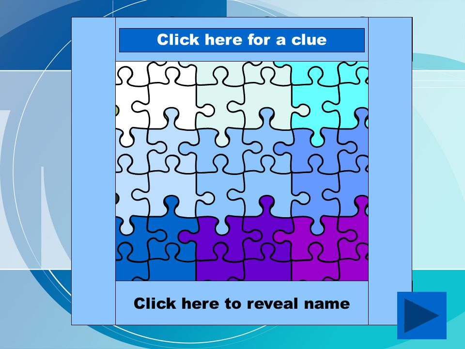 007Click here for a clue Daniel CraigClick here to reveal name