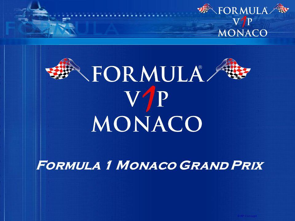 Formula 1 Monaco Grand Prix © AP Concept