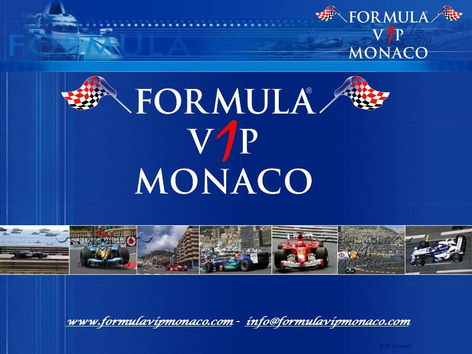 www.formulavipmonaco.com - info@formulavipmonaco.com © AP Concept