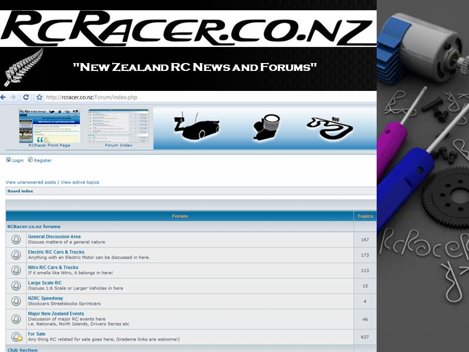 New Zealand RC News and Forums