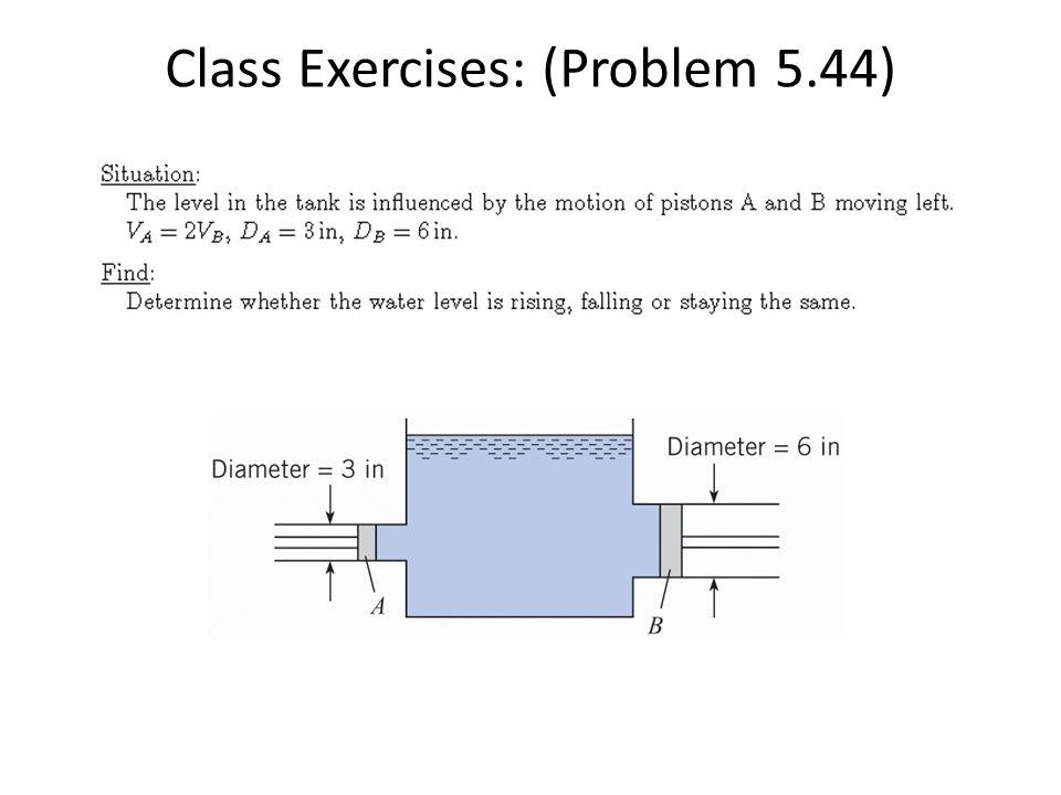 Class Exercises: (Problem 5.44)