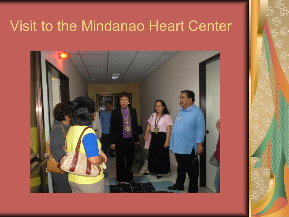 Visit to the Mindanao Heart Center