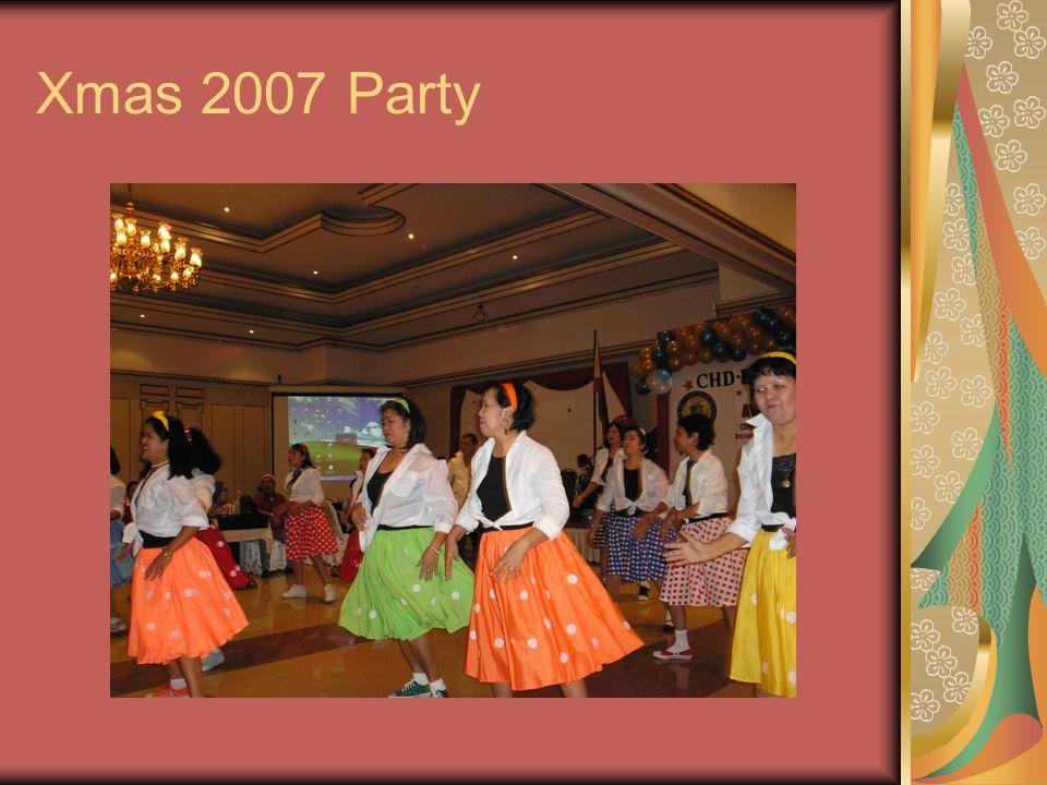 Xmas 2007 Party
