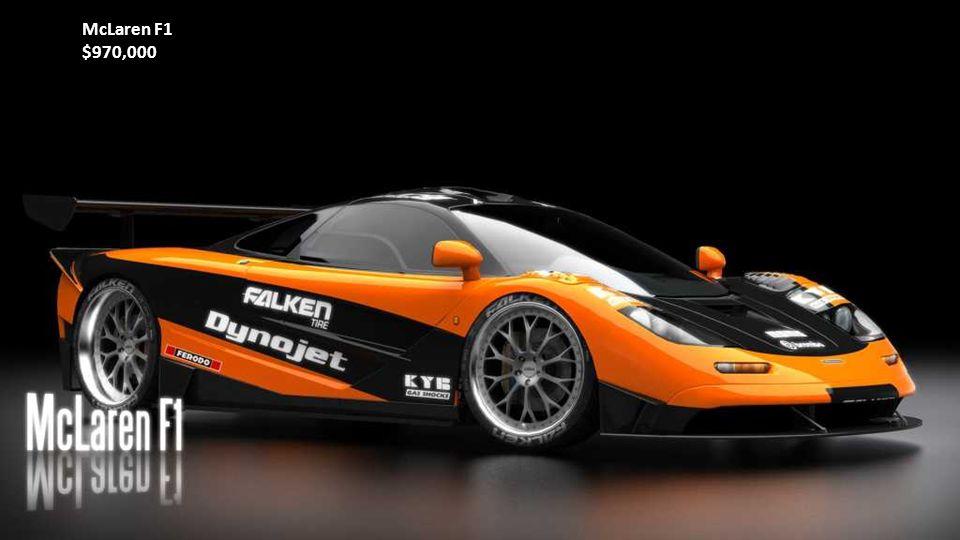 Ferrari Enzo$670,000