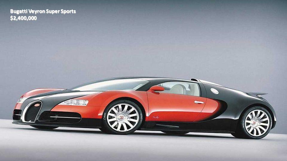 Bugatti Galibier $1,600,000