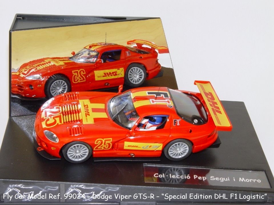 Fly Car Model Ref. 99024 – Dodge Viper GTS-R – Special Edition DHL F1 Logistic