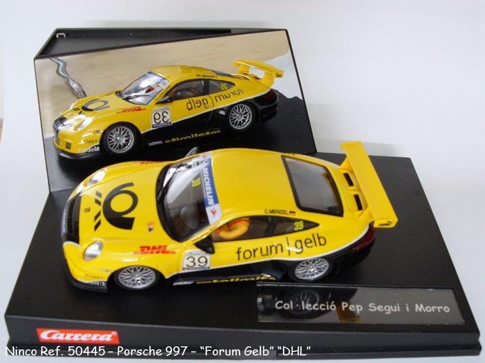 """Ninco Ref. 50445 – Porsche 997 – """"Forum Gelb"""" """"DHL"""""""