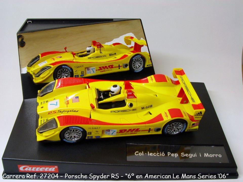 "Carrera Ref. 27204 – Porsche Spyder RS – ""6º en American Le Mans Series '06"""