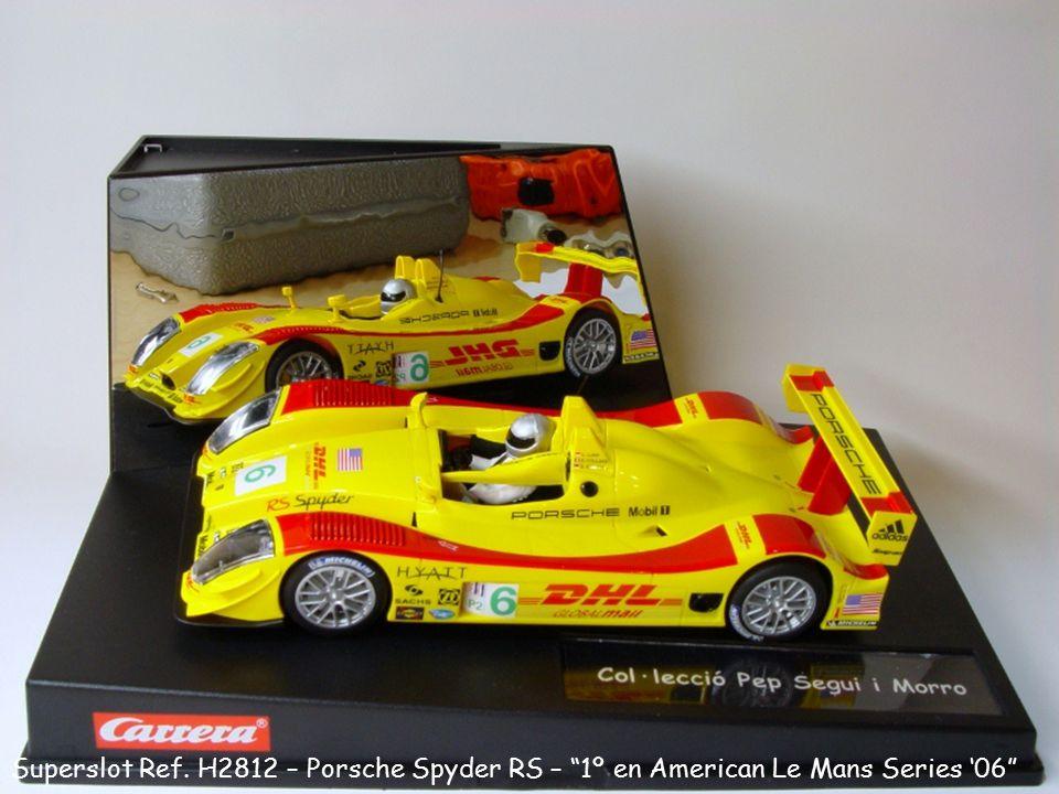 """Superslot Ref. H2812 – Porsche Spyder RS – """"1º en American Le Mans Series '06"""""""