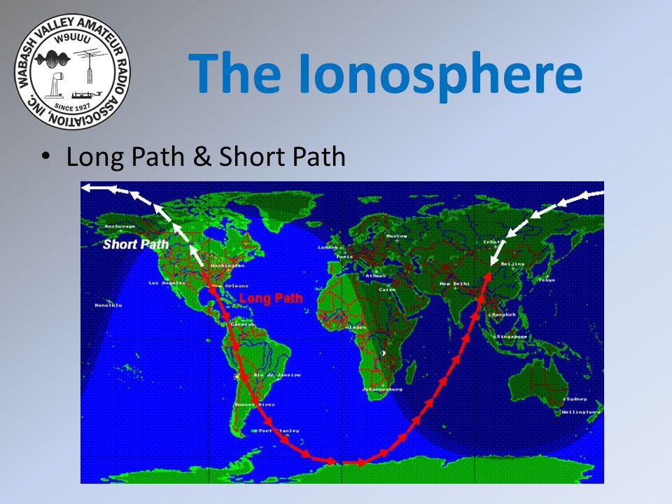 Long Path & Short Path The Ionosphere