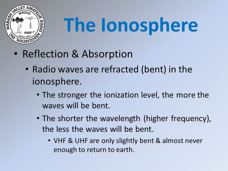 Scatter Characteristics Localized areas in the ionosphere can reflect radio waves as well as refract them.