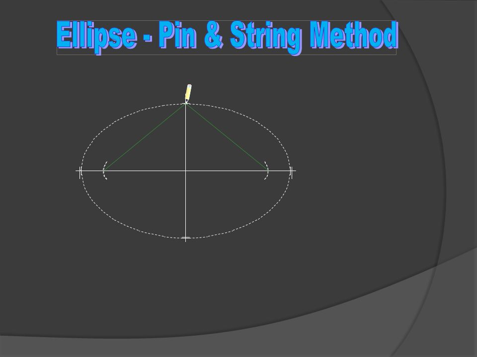 Now you have created the perfect ellipse.You can use a band saw or jig saw to cut the shape.