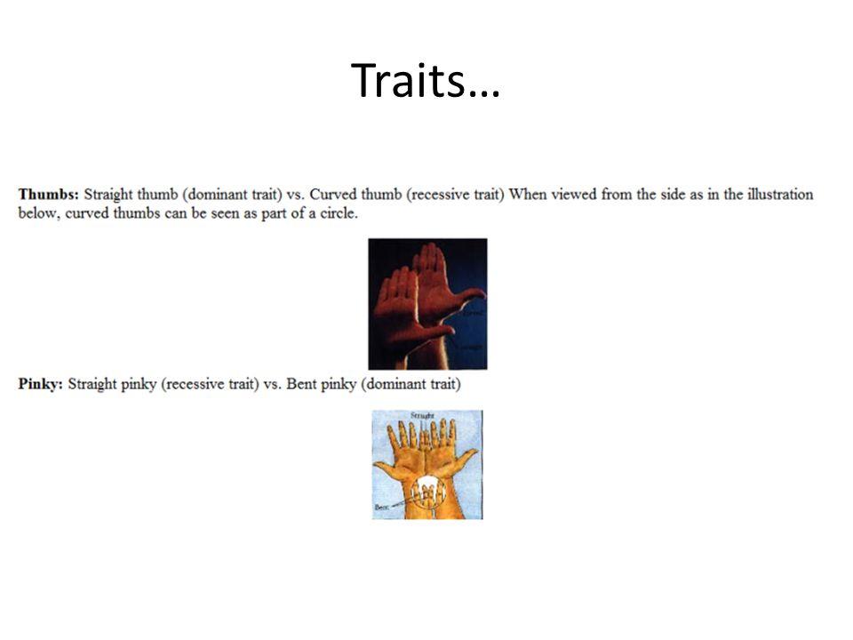 Traits…