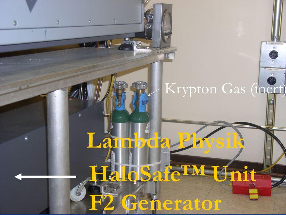 HaloSafe™ Unit F2 Generator Lambda Physik Krypton Gas (inert)