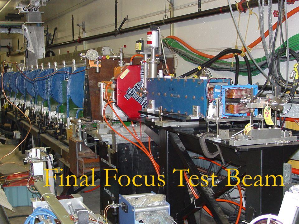 Final Focus Test Beam